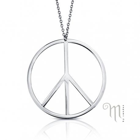Stålhalsband Peace