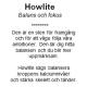 Armband Gauri i Howlite 4mm