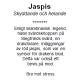 Armbandet Hari i Jaspis