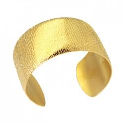 Stålarmband i guld Bombay