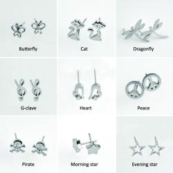 Stålörhängen (Kirurgiskt stål)