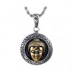 Stålhalsband Buddha
